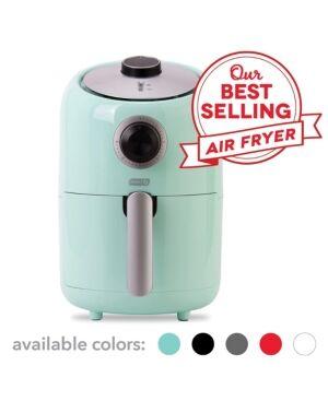 Dash Compact Air Fryer  - Aqua