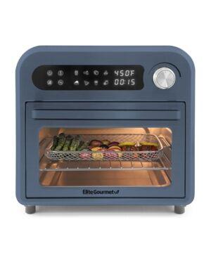 Elite Gourmet Air Fryer Oven  - Slate Blue