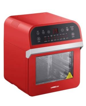 Gowise Usa 12.7-Qt 15-in-1 Air Fryer Oven with 10 Accessories  - Red