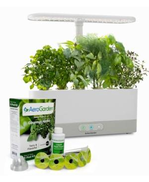AeroGarden Harvest Slim with Gourmet Herbs Seed Pod Kit  - White