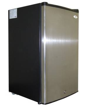Spt Appliance Inc. Spt 3.0 Cubic feet Upright Freezer with Energy Star - Stainless Steel  - Black
