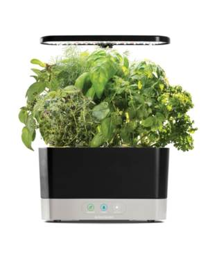 AeroGarden Harvest 6-Pod Countertop Garden  - Black