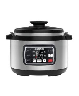 GoWISE Usa 9.5 Quart Ovate Series Pressure Cooker with Accessories  - Silver