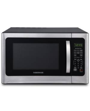 Farberware Professional FMO12AHTBKE 1.2 Cu. Ft. 1100-Watt Microwave Oven with Sensor Cooking, Stainless Steel/Black Body Wrap  - Stainless Steel/black