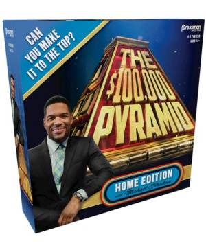 Pressman Toy The 100,000 Pyramid Home Edition With Michael Strahan