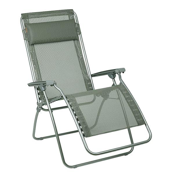 Relax The Back Lafuma R Clip Mesh Zero Gravity Outdoor Recliner Seigle / Gray Frame