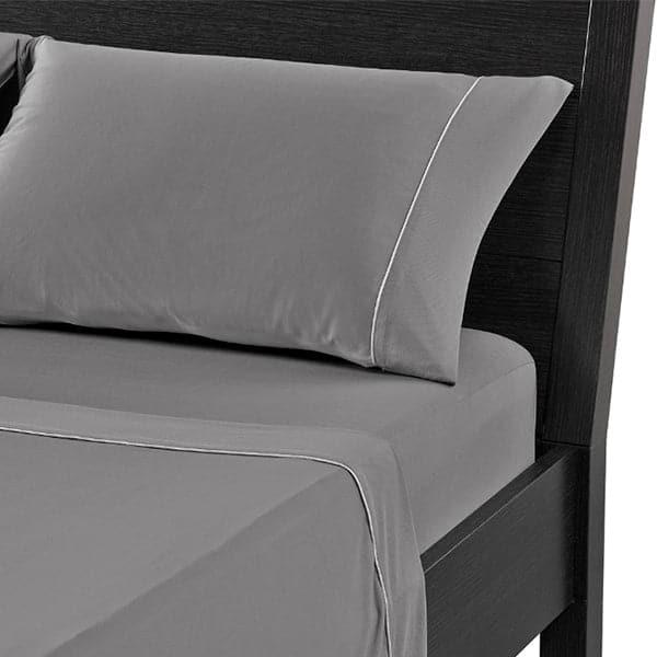 bedgear Dri-Tec Moisture Wicking Performance Sheets Twin - 38x74 / Steel Gray