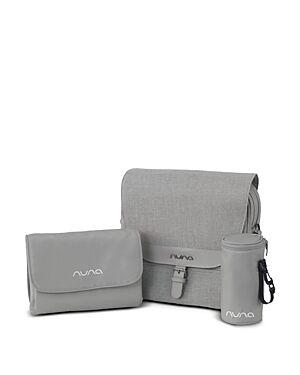 Nuna Diaper Bag with Accessories  - Unisex - Gray