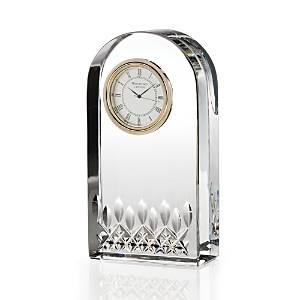 Waterford Lismore Essence Desk Clock  - Clear