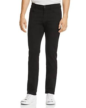 7 For All Mankind Slimmy Luxe Sport Super Slim Fit Jeans  - Male - Black - Size: 29