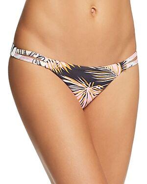 Maaji Garden Pilot Reversible Signature Bikini Bottom  - Female - Multi - Size: Large