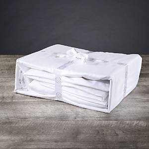 Delilah Home Organic Cotton Sheet Set, Twin Xl  - White