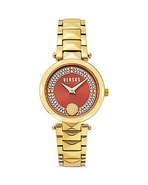 Versace Versus Versace Covent Garden Watch, 32mm  - Female - Red/Gold