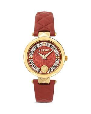 Versace Versus Versace Covent Garden Watch, 32mm  - Female - Red