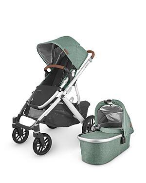 UPPAbaby Vista V2 Stroller  - Unisex - Emmett Green Melange