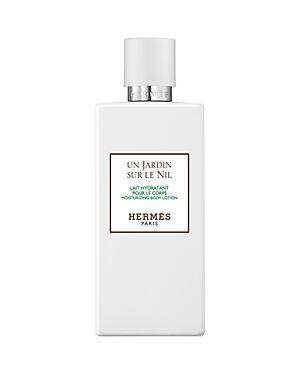 HERMES Un Jardin sur le Nil Perfumed Body Lotion, Le Bain Garden Collection  - Unisex - No Color