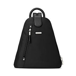 Baggallini New Classic Metro Backpack with Rfid Phone Wristlet  - Unisex - Black