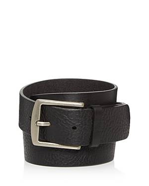 Frye Men's Weston Leather Belt  - Male - Black - Size: 32