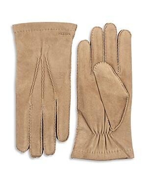 Hestra Arthur Suede Gloves  - Male - Camel - Size: 10
