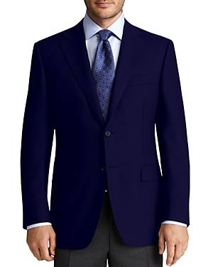 Canali Sport Coat - Classic Fit  - Male - Navy - Size: 54 IT / 44 US