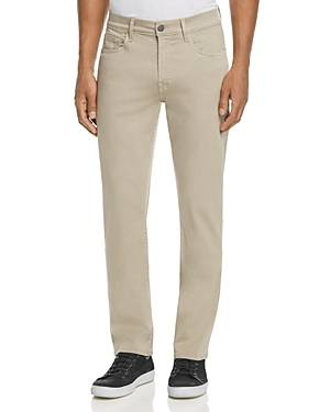7 For All Mankind Slimmy Luxe Sport Super Slim Fit Jeans  - Male - Light Khaki - Size: 32