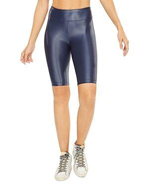 Koral Densonic High-Rise Bike Shorts  - Female - Midnight B - Size: Small