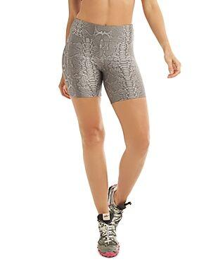 Koral Slalom High Rise Bike Shorts  - Female - Reptile - Size: Large