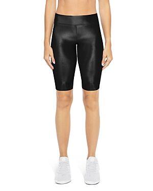 Koral Densonic High-Rise Bike Shorts  - Female - Black - Size: Large