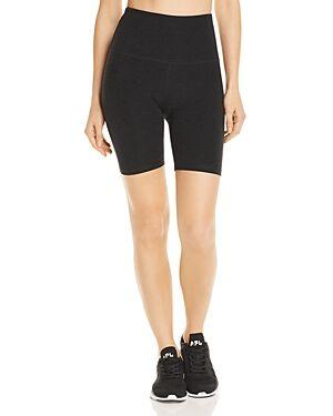 Beyond Yoga Crossroads High-Rise Bike Shorts  - Female - Darkest Night - Size: Extra Large