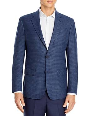 The Men's Store at Bloomingdale's Check Sport Coat - 100% Exclusive  - Male - Navy - Size: 46L