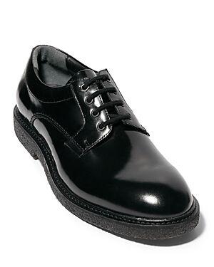 Allsaints Mak Low Pollido Round Toe Dress Shoes  - Male - Black - Size: 11US / 44EU
