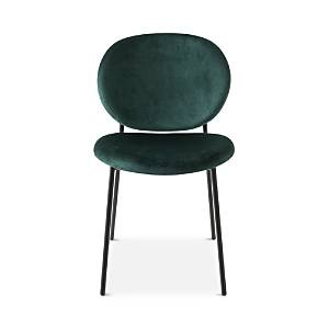 Calligaris Ines Dining Chair  - Forest Green Set/Matte Frame