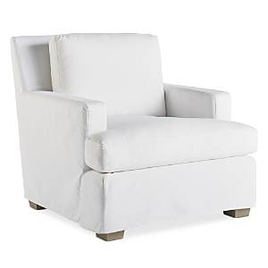 Miranda Kerr Home Malibu Slipcover Chair  - Easy Street Snow