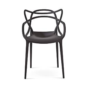 Kartell Masters Dining Chair, Set of Two  - Matte Black