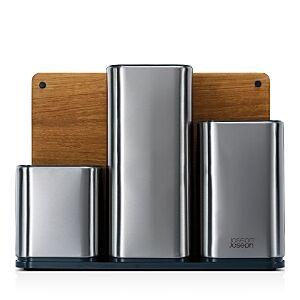 Joseph Joseph CounterStore 100 Stainless Steel Kitchen Worktop Organizer  - Silver