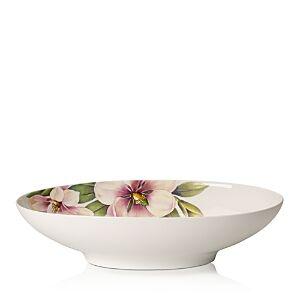 Villeroy & Boch Quinsai Garden Oval Vegetable Bowl  - Magnolia