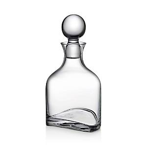 Nude Glass Arch Whisky Bottle  - Clear