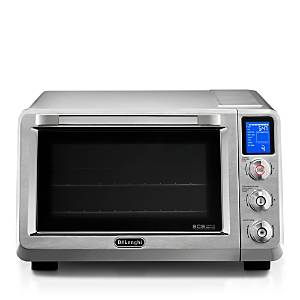 DeLonghi Digital Toaster Oven  - Stainless Steel - Size: Model EO241250M