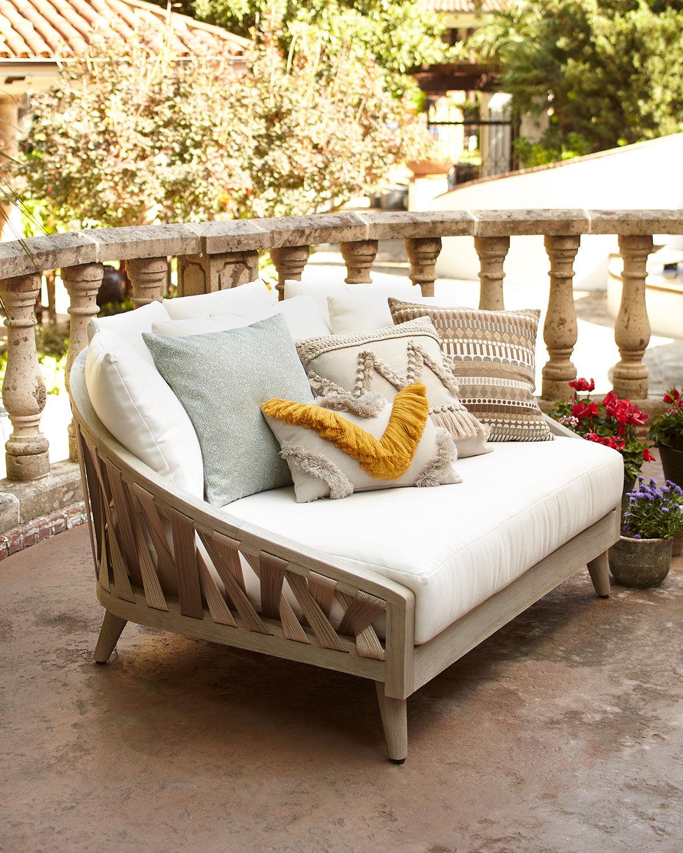 Palecek Boca Outdoor Sun Bed