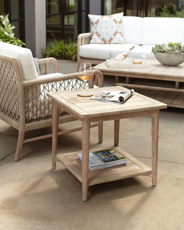 Palecek Montecito Outdoor Side Table