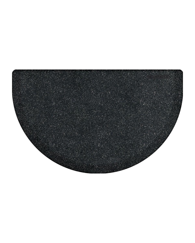 """WellnessMats Studio Semicircle Anti-Fatigue Kitchen Mat, 32"""" x 22"""""""