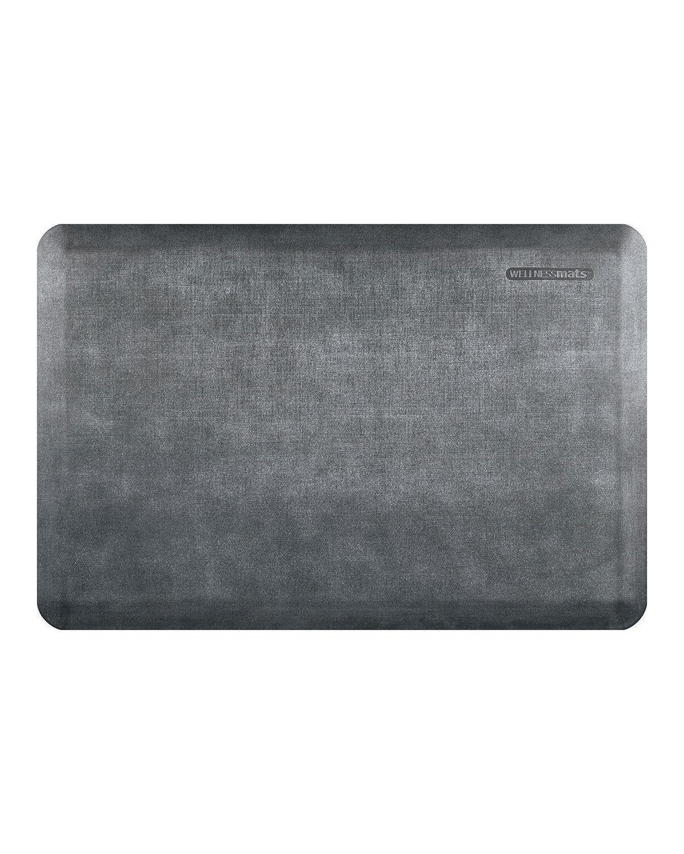 WellnessMats Linen Anti-Fatigue Kitchen Mat, 3' x 2'