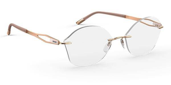 Silhouette Eyeglasses Crystal Grace 5527 GI 3520