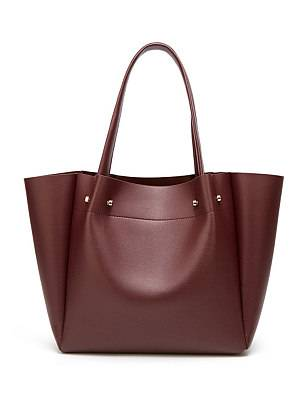 Berrylook Women's fashion solid color large capacity shoulder bag clothing stores, online shopping sites,