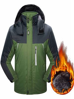 Berrylook Outdoor Plus Velvet Thick Three-in-one Mountaineering Jacket shoppers stop, online shopping sites,