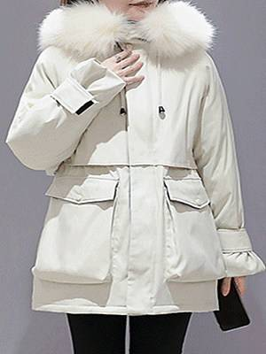 Berrylook Parker Cotton Jacket Mid-Length clothes shopping near me, fashion store, winter jackets for women on sale, womens cape coat