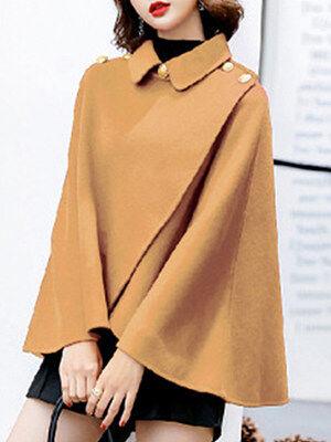 Berrylook Cape Coat Short online, clothes shopping near me, womens winter parka, warmest winter jacket
