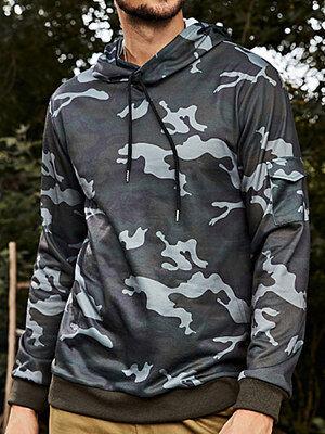 Berrylook Mens outdoor sports outdoor camouflage sweater Hoodies online, shoping,
