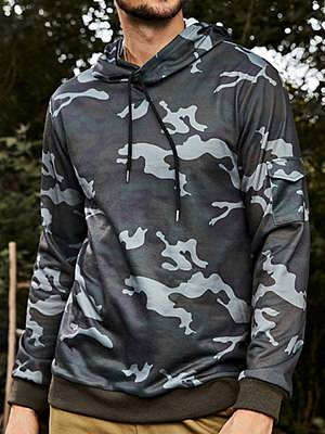 Berrylook Mens outdoor sports outdoor camouflage sweater Hoodies online sale, fashion store,