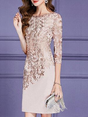 Berrylook Fashion Print Short Sleeve Dress clothes shopping near me, shoping, backless dress, little black dress